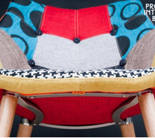Un fauteuil « pop » - design scandinave P.I.B.…