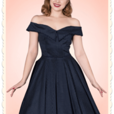 Robe style année 50